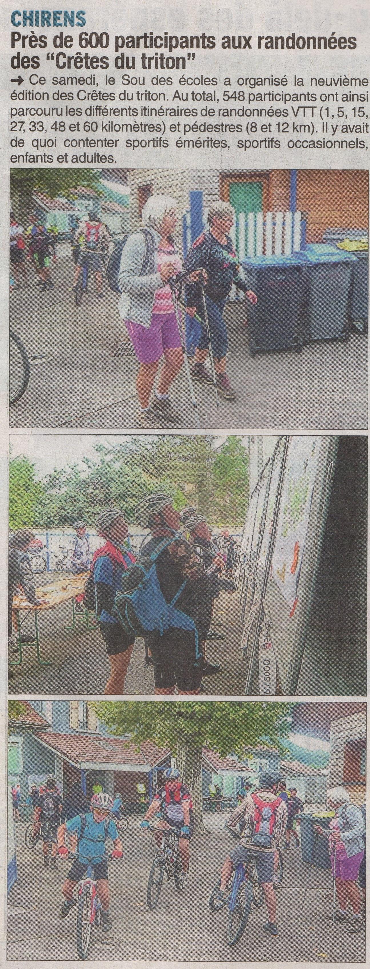 Le Dauphiné Libéré Mardi 15 Septembre 2015