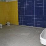 6.WC avec séparations à venir