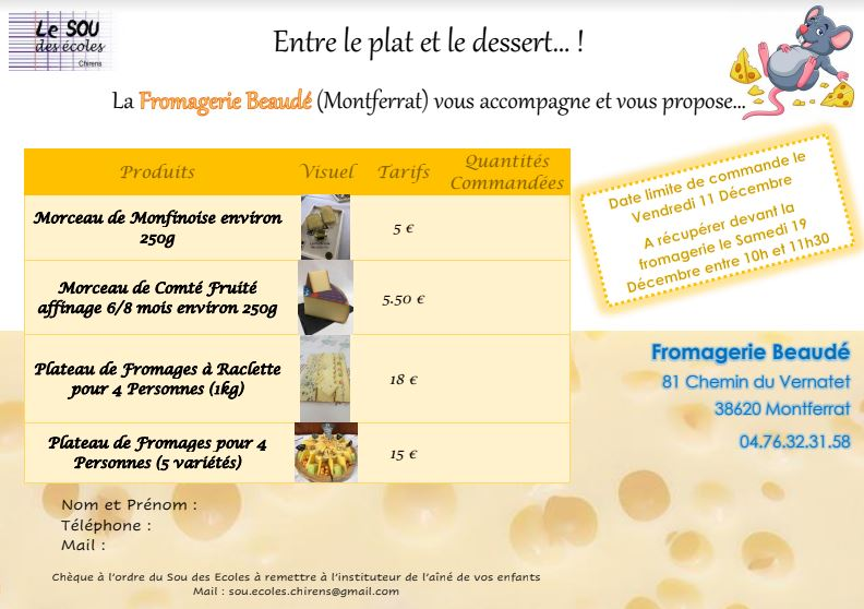 Flyers Fromages