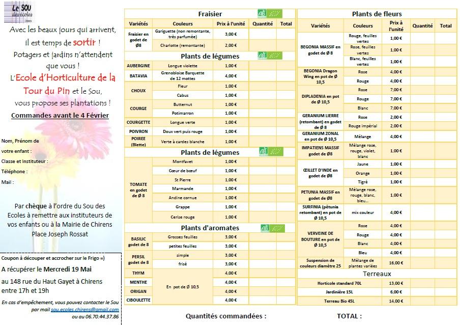 Flyers Fleurs et Plantes