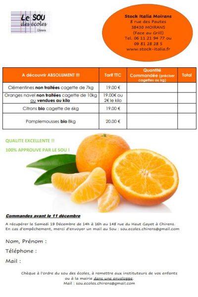 Flyers Mandarines